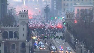 14-11-2017 12:04 Materiały dotyczące Marszu Niepodległości trafiły do prokuratury