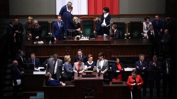 """11-01-2017 18:38 Kaczyński: sprawa budżetu jest zamknięta. """"Blokowanie stołu marszałka to poważne przestępstwo"""""""