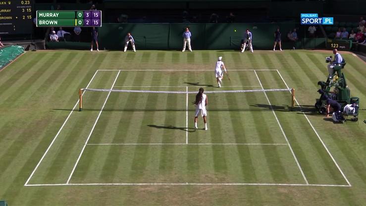 Najładniejsze akcje Wimbledonu - 05.07