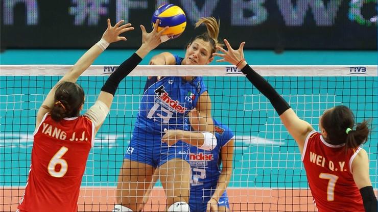 Włoszki płaczą, Chinki skaczą! Sensacyjny finał mistrzostw świata w siatkówce!