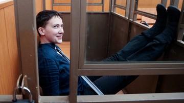 22-03-2016 14:48 Sawczenko skazana - 22 lata pozbawienia wolności