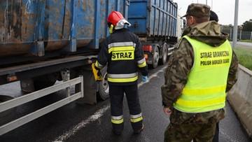 16-10-2017 20:37 Wwieźli do Polski niebezpieczne odpady. Nielegalny transport z Czech