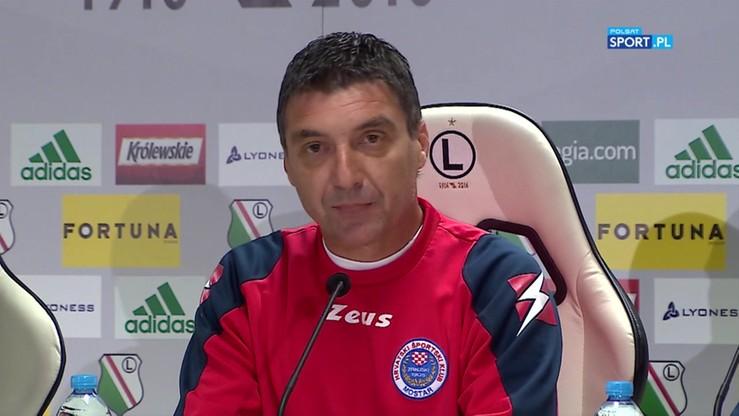 Trener Zrinjskiego Mostaru: Przyjechaliśmy, żeby zagrać jak najlepszy mecz