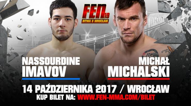 FEN 19: Michalski powraca do klatki!