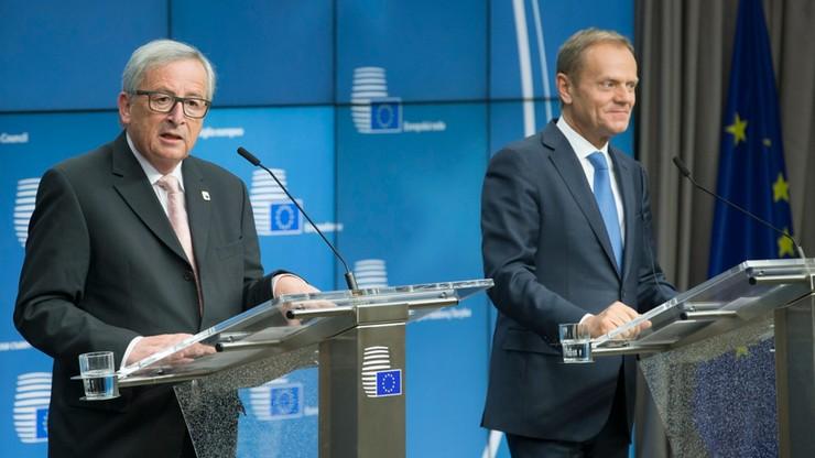 Tusk i Juncker spotkają się z Trumpem. 25 maja w Brukseli