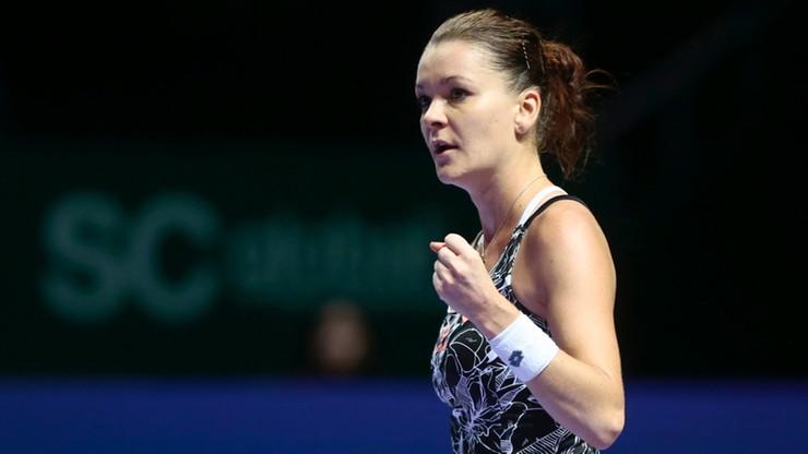 WTA Finals: Radwańska wciąż w grze o półfinał. Rozbiła i wyrzuciła z turnieju Muguruzę!