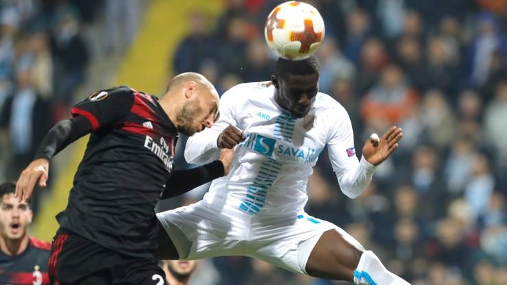 Liga Europy: Sensacyjna porażka Milanu. Kolejni Polacy awansowali