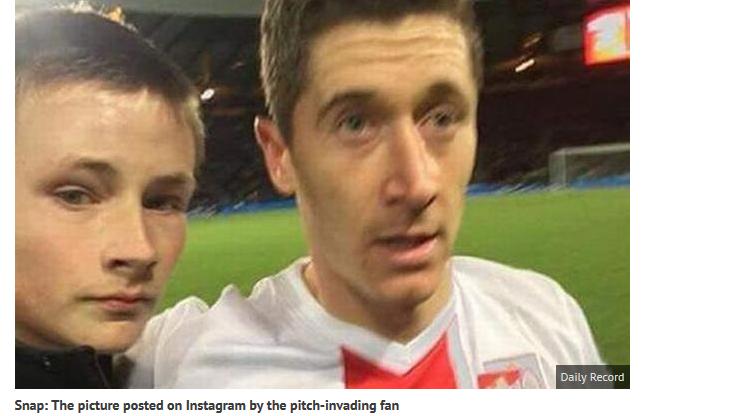 Szkockie media: LewandOFFski, brutalny kopniak, wyeliminowani przez... selfie!
