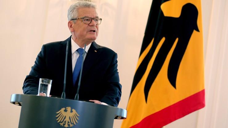 Prezydent Niemiec zrezygnował z ubiegania się o reelekcję