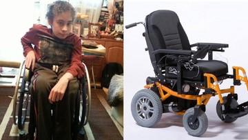 31-05-2016 12:34 Złodziej ukradł wózek za 25 tysięcy złotych. Rodzina niepełnosprawnego apeluje o pomoc