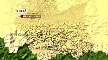 Silny wstrząs ziemii w kopalni węgla kamiennego w Libiążu