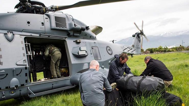 Nowa Zelandia: ewakuacja turystów uwięzionych po trzęsieniu ziemi