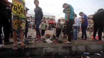 Potężny zamach bombowy w Bagdadzie. ISIS: ofiary to politeistyczni odszczepieńcy