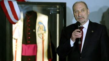 12-04-2017 21:36 Macierewicz w Muzeum Katyńskim: zbrodnia NKWD do dziś nie została rozliczona