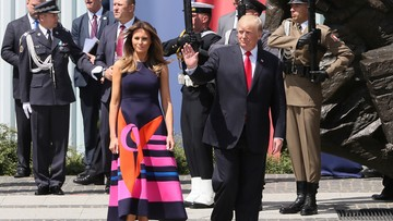 06-07-2017 15:20 Trump przyjął zaproszenie do Słowenii, skąd pochodzi jego żona