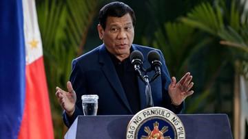 24-05-2017 15:26 Prezydent Filipin rozważa osobiste negocjacje z islamistami