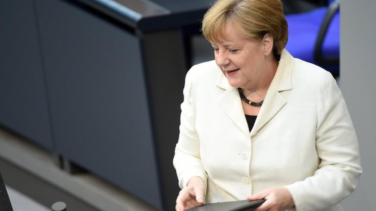 Merkel zapewnia Polskę o solidarności i obciąża Rosję odpowiedzialnością za pogorszenie bezpieczeństwa