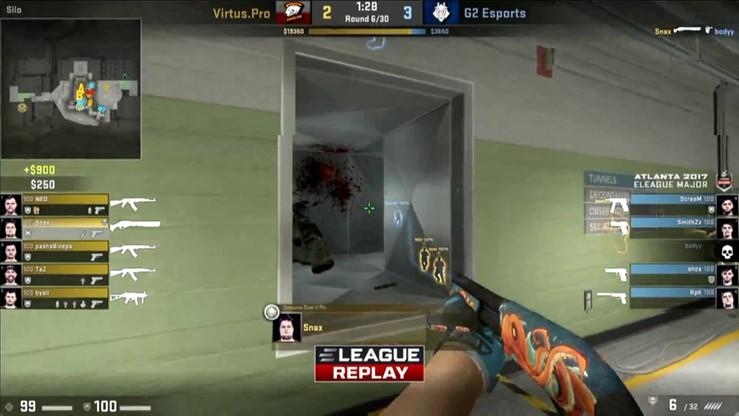 Najlepsze akcje z meczu Virtus.pro - G2 Esports