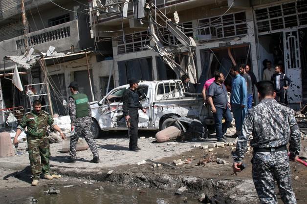 Uderzenie w Państwo Islamskie. Bombardowanie w Tikricie