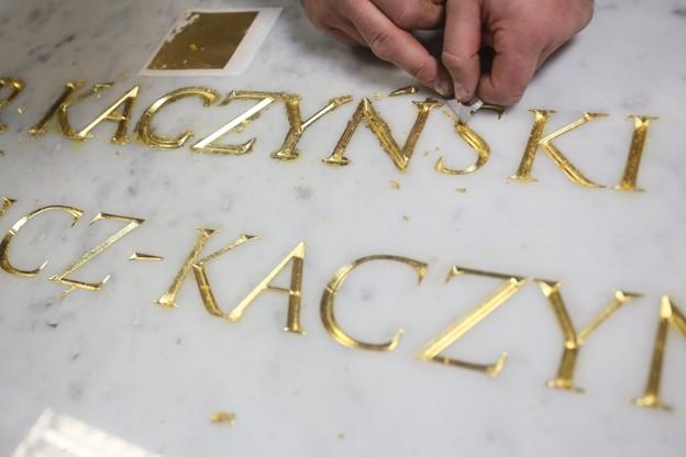 Nowy sarkofag pary prezydenckiej