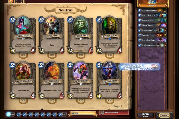 Hearthstone: Heroes of Warcraft trafia na smartfony