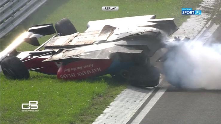 2016-07-24 GP3: Groźny wypadek na Hungaroring