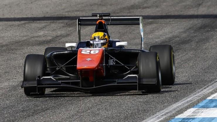 Artur Janosz drugi rok w GP3!