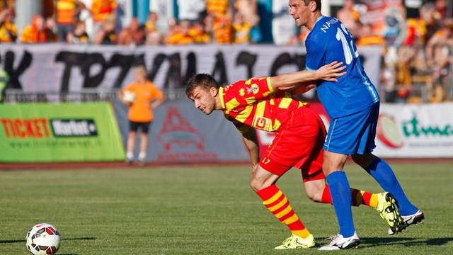 Piłkarska LE - Kruoja - Jagiellonia 0:1