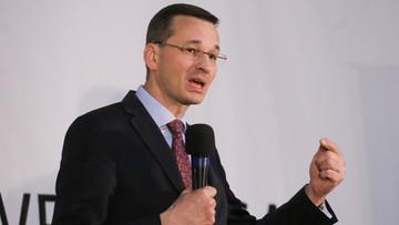 Morawiecki: w ciągu 2-3 miesięcy program wzmocnienia oszczędności