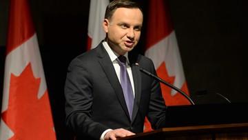 11-05-2016 20:24 Andrzej Duda zaprosił kanadyjskich żołnierzy do Polski