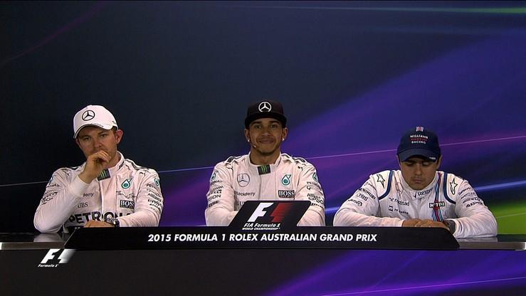 Hamilton: Jazda jest radością. Rosberg: Nie miałem dobrego dnia
