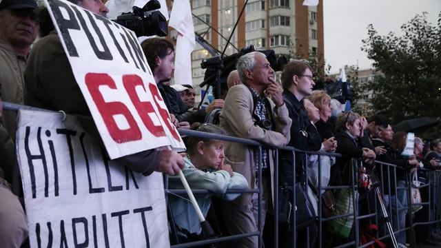 Protest przeciwko Putinowi. 10 tysięcy osób na ulicach Moskwy