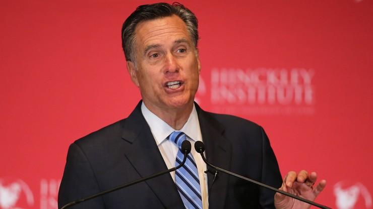 """""""Jest krętaczem i oszustem"""". Romney chce zablokowania nominacji dla Trumpa"""