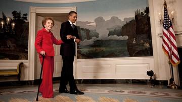 06-03-2016 17:51 W wieku 94 lat zmarła Nancy Reagan