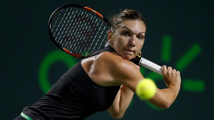 Halep uzupełniła grono półfinalistek w Miami