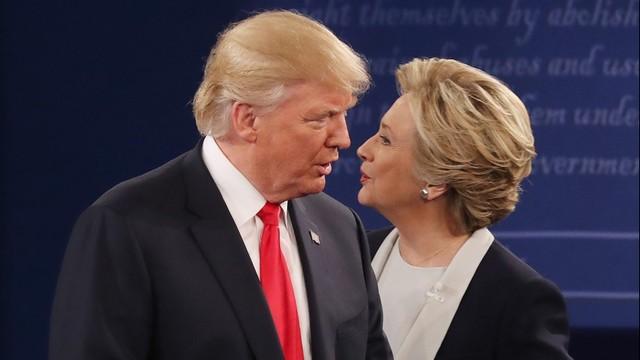 USA: Do ponad 2,8 mln głosów wzrosła przewaga Clinton nad Trumpem