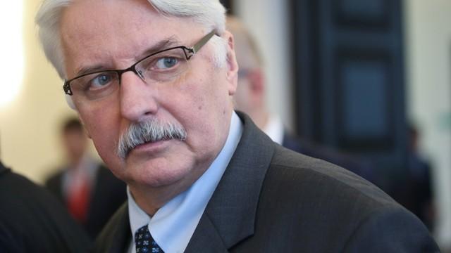 Szef MSZ: polsko-francuskie konsultacje przełożone, nie odwołane