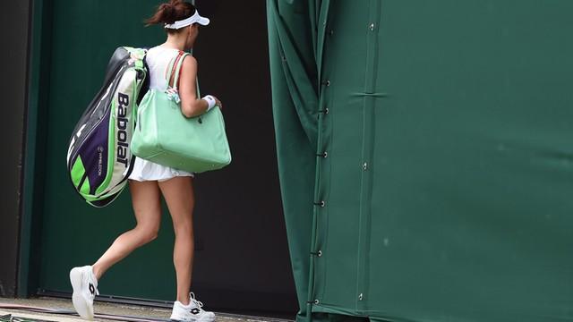 Radwańska pożegnała się z Wimbledonem