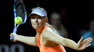 2017-08-13 WTA w Cincinnati: Szarapowa wycofała się z powodu kontuzji ramienia