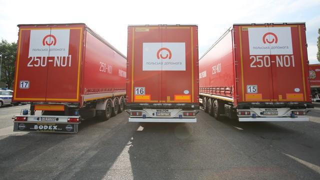 Polsko-niemiecka pomoc humanitarna dotarła do Zaporoża