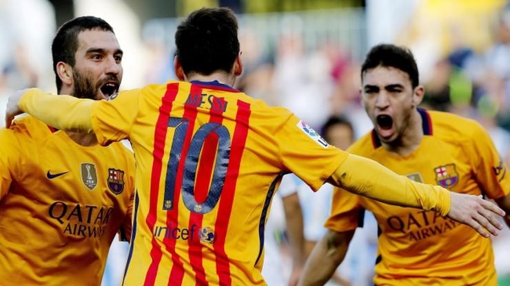 FC Barcelona przełamała wyjazdową niemoc. Pokonała Malagę