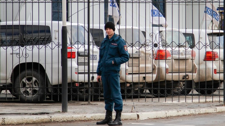 Ukraińskie służby traktują zamach na OBWE jako akt terroru