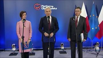 Platforma pyta, dlaczego Kaczyński popiera Biereckiego