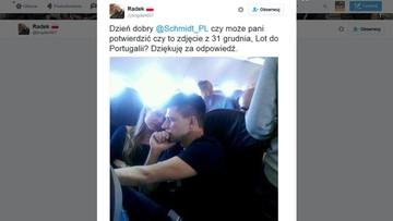 """""""A miał Sejmu pilnować"""". Internauci o podróży Ryszarda Petru"""