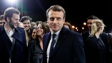08-05-2017 11:04 Ostateczne wyniki wyborów we Francji: Macron 66,1 proc., Le Pen 33,9 proc.