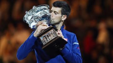 31-01-2016 12:45 Djokovic zdobył 11. wielkoszlemowy tytuł. W Melbourne pokonał Murraya