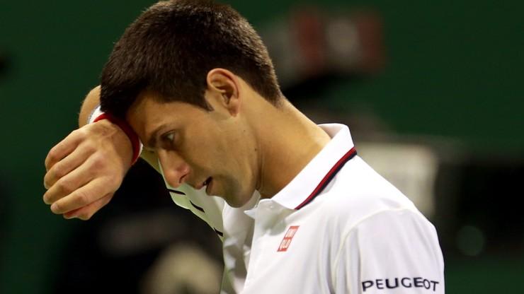 As asów wyrzucił z turnieju w Dausze Djokovicia