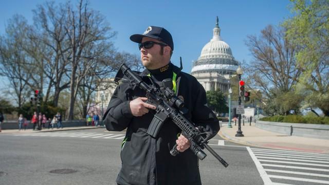 USA: Strzały na Kapitolu, sprawca zatrzymany