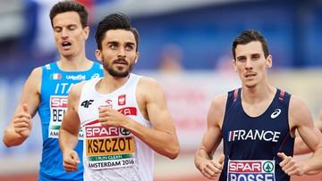 10-07-2016 18:50 Złoto Adama Kszczota w mistrzostawch Europy w biegu na 800 m