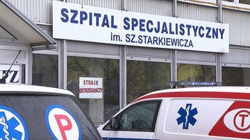 22-03-2016 12:12 Strajk ostrzegawczy w szpitalu w Dąbrowie Górniczej